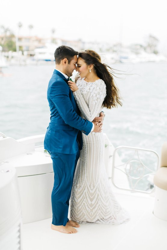 Intimate Stylish Yacht Wedding – Kenzie Victory