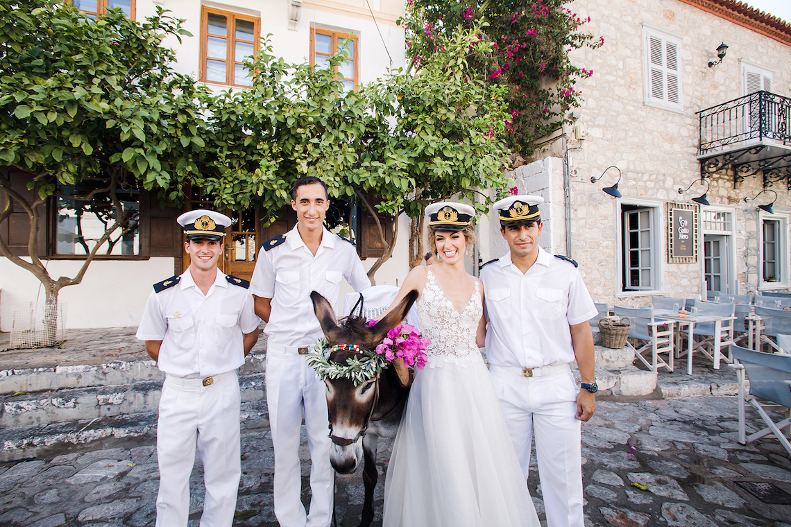 Delightfully Pretty & Wildy Fun Greek Destination Wedding | Penelope Photography 35