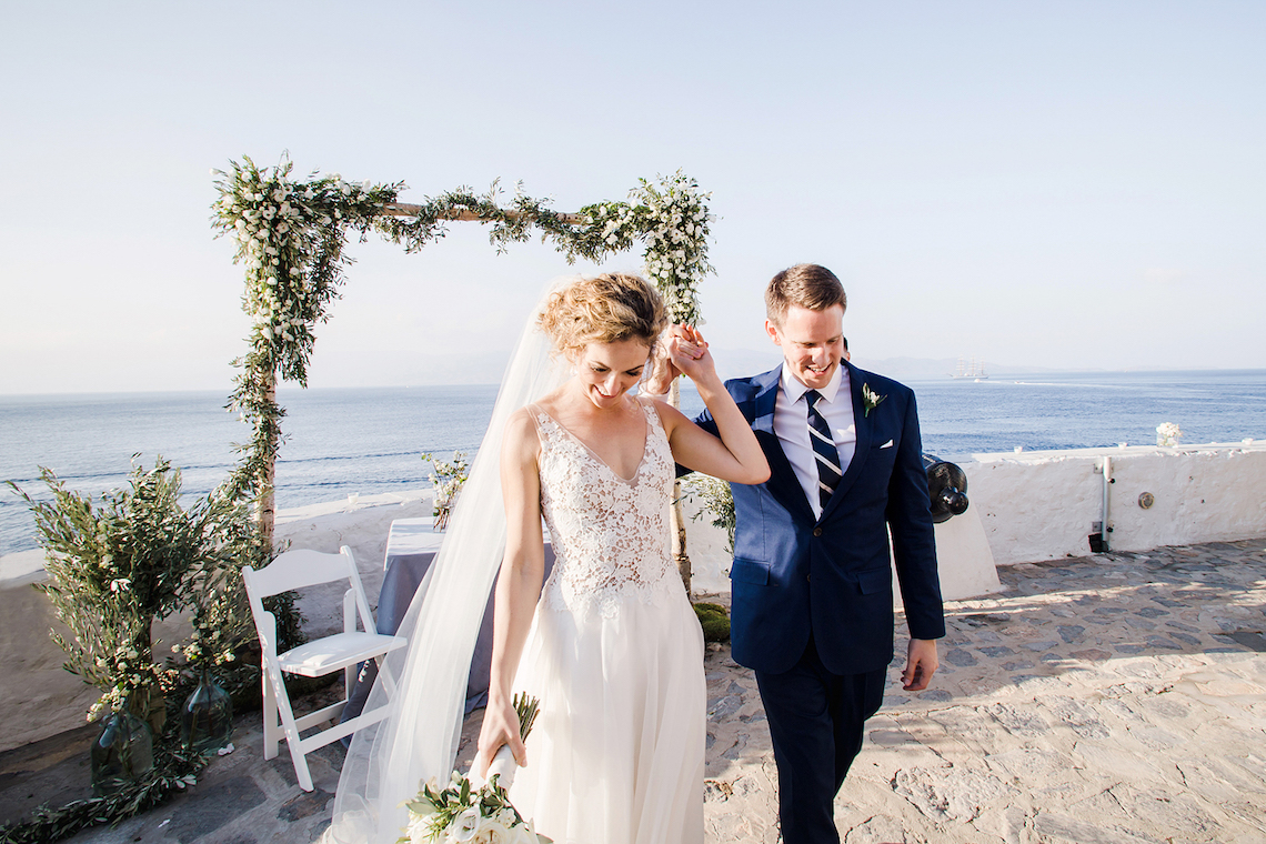Delightfully Pretty & Wildy Fun Greek Destination Wedding | Penelope Photography 41