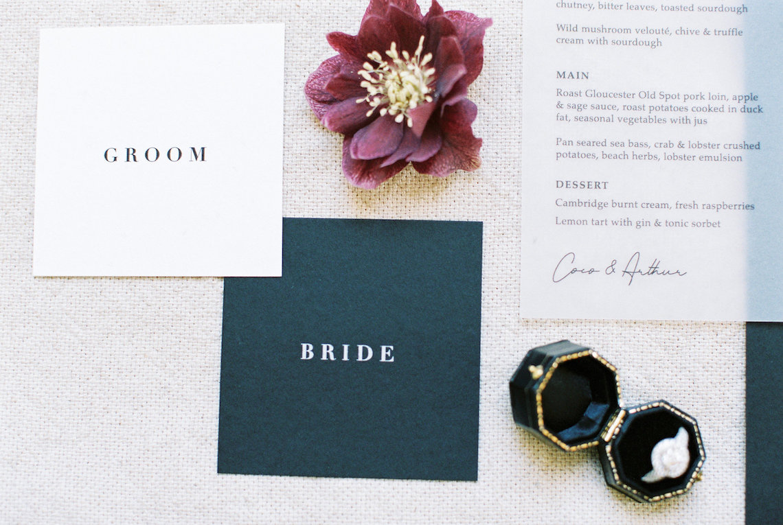Luxurious Coco Chanel Inspired Wedding Ideas   Bowtie & Belle Photography 34
