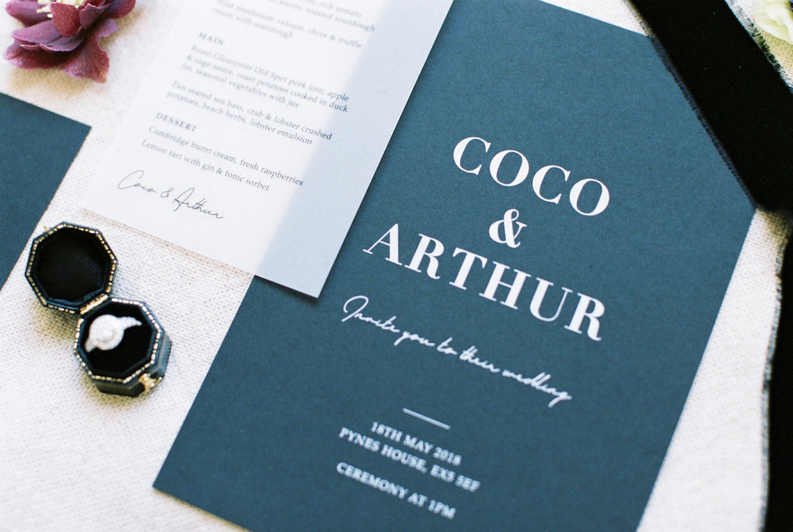 Luxurious Coco Chanel Inspired Wedding Ideas | Bowtie & Belle Photography 35