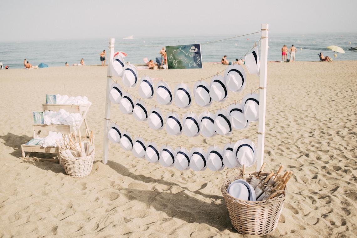 Relaxed All-White Spanish Beach Wedding With Seriously Glamorous Bridal Beauty Style   Sara Lobla Photography 2