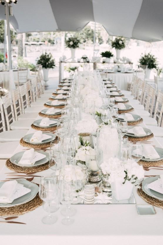 Relaxed All-White Spanish Beach Wedding With Seriously Glamorous Bridal Beauty Style   Sara Lobla Photography 29
