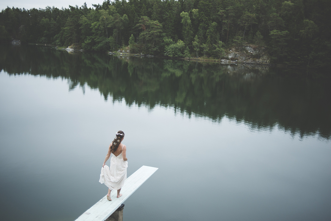 Relaxed & Woodsy Swedish Island Wedding   Sara Kollberg 19