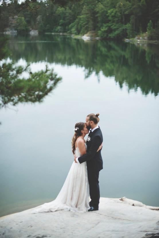 Relaxed & Woodsy Swedish Island Wedding   Sara Kollberg 2