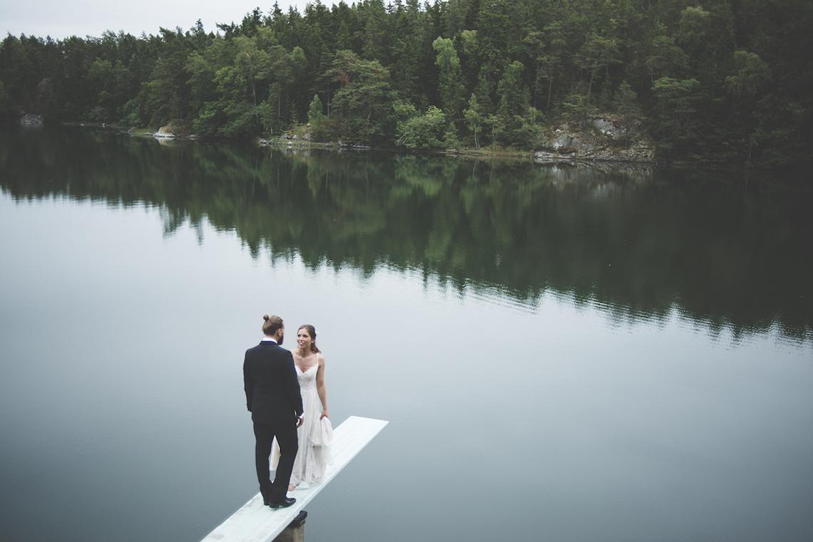 Relaxed & Woodsy Swedish Island Wedding   Sara Kollberg 20