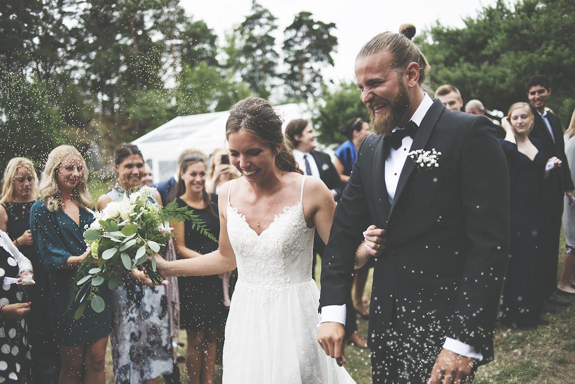 Relaxed & Woodsy Swedish Island Wedding   Sara Kollberg 22