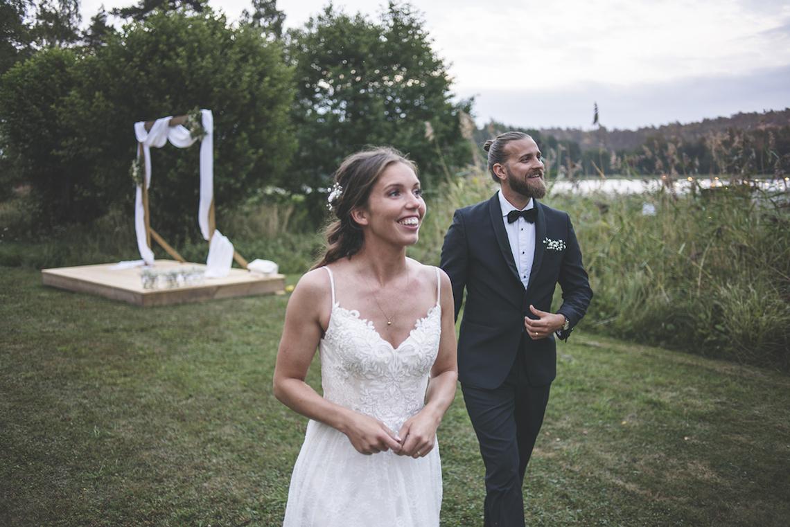Relaxed & Woodsy Swedish Island Wedding   Sara Kollberg 25