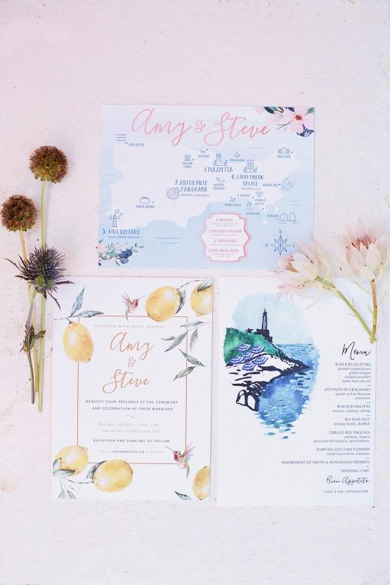 Romantic & Luxe Capri Destination Wedding | Purewhite Photography 57