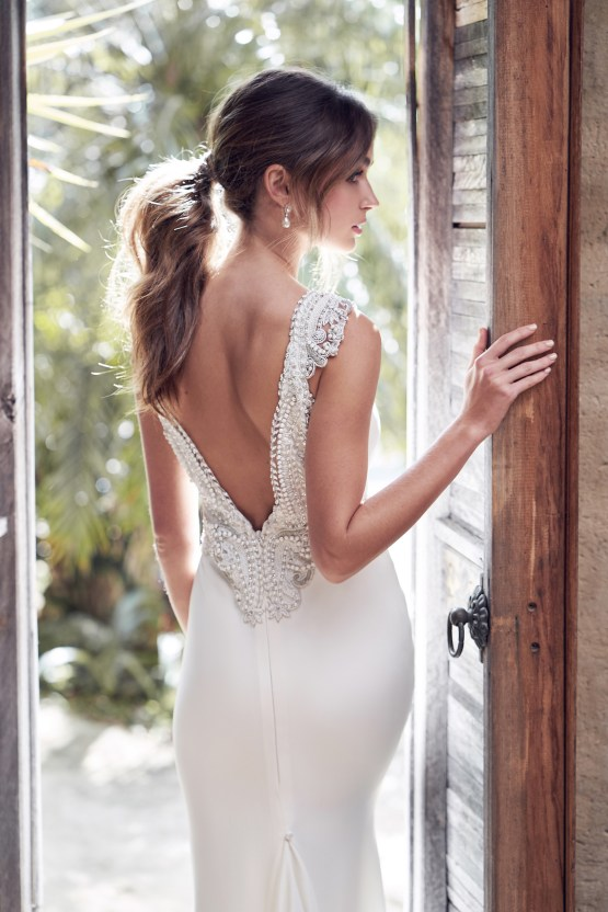 The Romantic & Sparkling Anna Campbell Wanderlust Wedding Dress Collection | Blake Dress-6