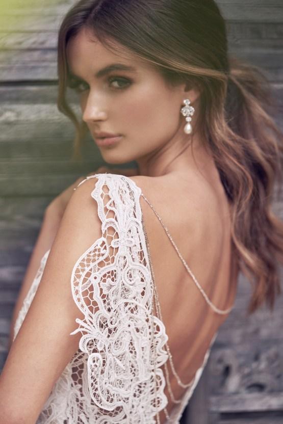 The Romantic & Sparkling Anna Campbell Wanderlust Wedding Dress Collection | Kira Dress-1