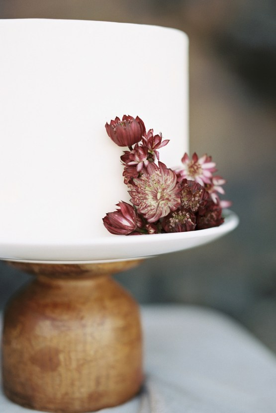 Artistic Burgundy & Fig Beach Wedding Inspiration | Rosencrown Photography 25
