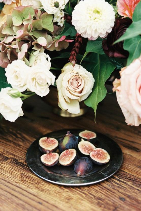 Artistic Burgundy & Fig Beach Wedding Inspiration   Rosencrown Photography 42