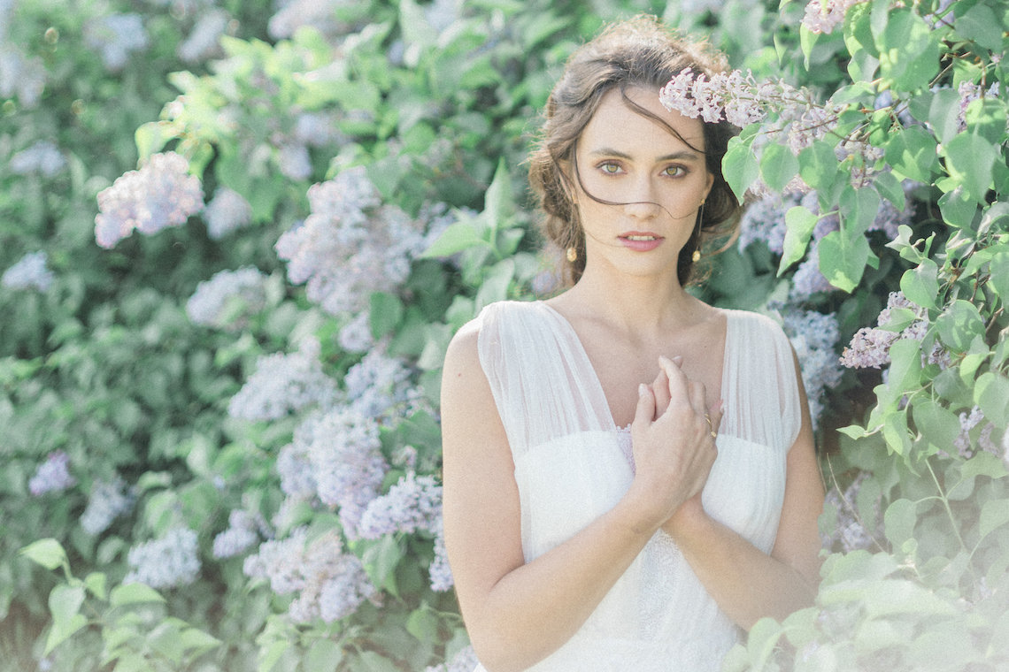 Beltane Goddess Bridal Inspiration With Lilacs And Horses – Gabriela Jarkovska 2