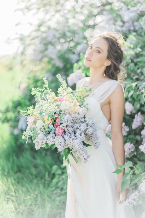 Beltane Goddess Bridal Inspiration With Lilacs And Horses – Gabriela Jarkovska 28