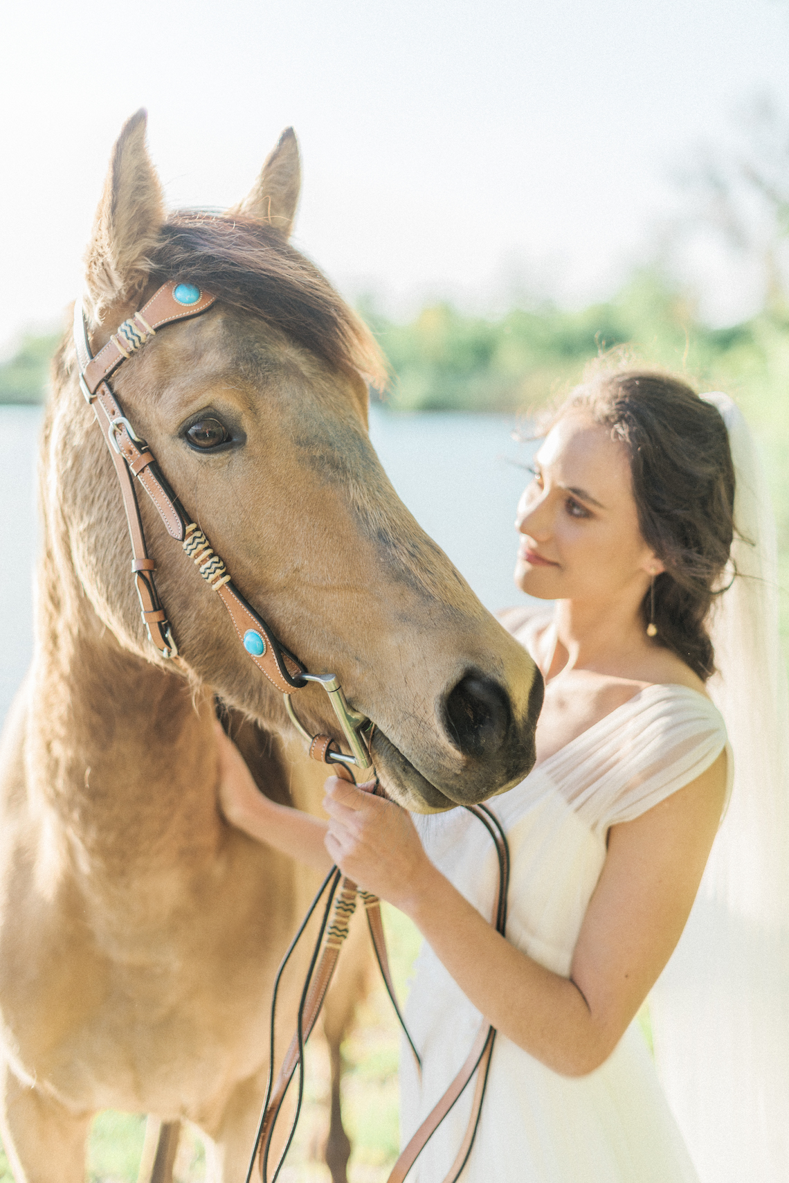 Beltane Goddess Bridal Inspiration With Lilacs And Horses – Gabriela Jarkovska 34