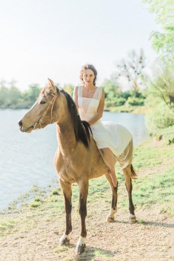 Beltane Goddess Bridal Inspiration With Lilacs And Horses – Gabriela Jarkovska 35