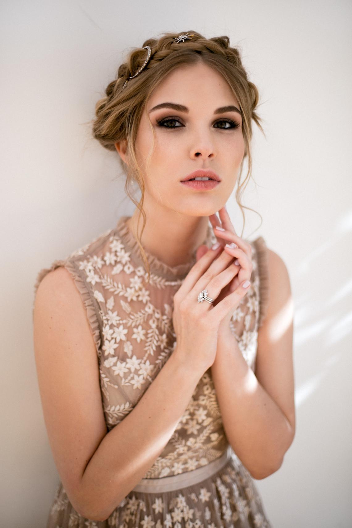 Celestial Ballerina Meets Art Gallery Wedding Inspiration   Alleksana Photography 19