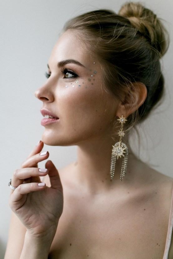 Celestial Ballerina Meets Art Gallery Wedding Inspiration   Alleksana Photography 54