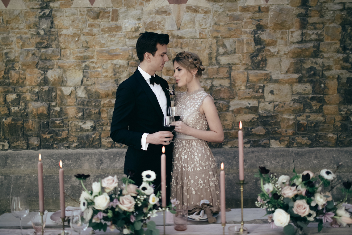 Celestial Ballerina Meets Art Gallery Wedding Inspiration   Alleksana Photography 8