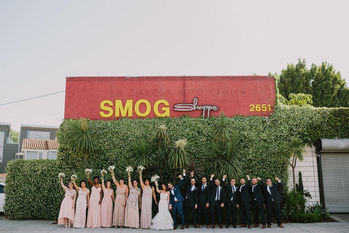 Cool Urban LA SmogShoppe Wedding | Lets Frolic Together 10