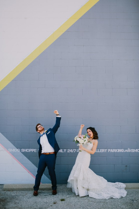 Cool Urban LA SmogShoppe Wedding | Lets Frolic Together 29