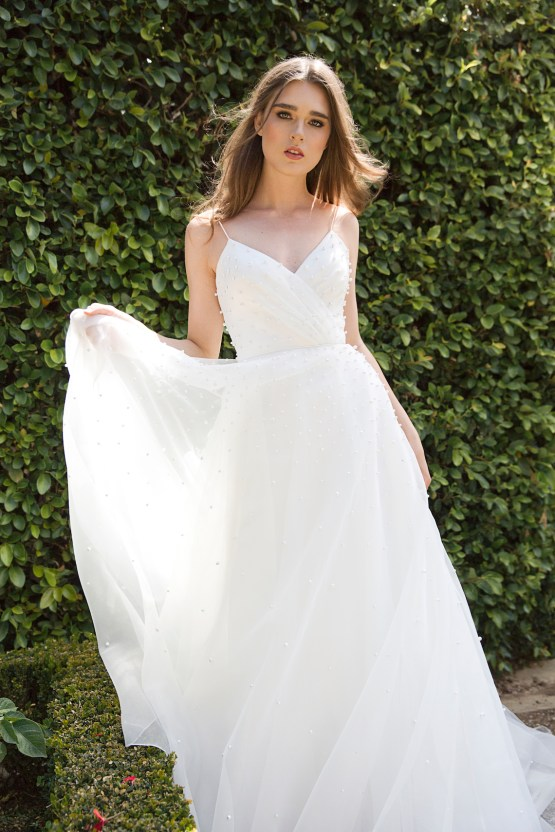 Jenny by Jenny Yoo's Fresh and Totally Modern Wedding Dress Collection | Presley 1