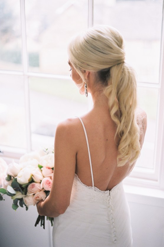 Luxurious Peony Filled Wedding At Home – Katie Julia – Lily and Sage 26