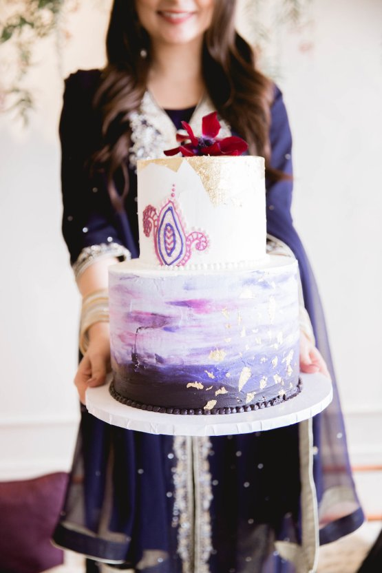 Multicultural Purple and Gold Bollywood Wedding Inspiration – Willow and Ivy Events – Zainab Rikabi 16