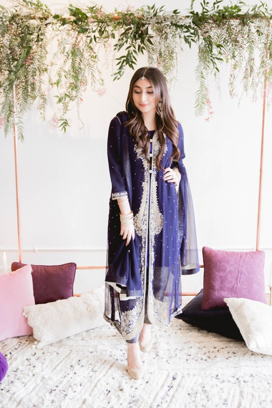 Multicultural Purple and Gold Bollywood Wedding Inspiration – Willow and Ivy Events – Zainab Rikabi 20