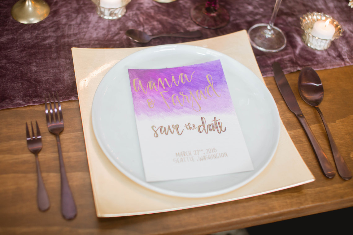 Multicultural Purple and Gold Bollywood Wedding Inspiration – Willow and Ivy Events – Zainab Rikabi 27