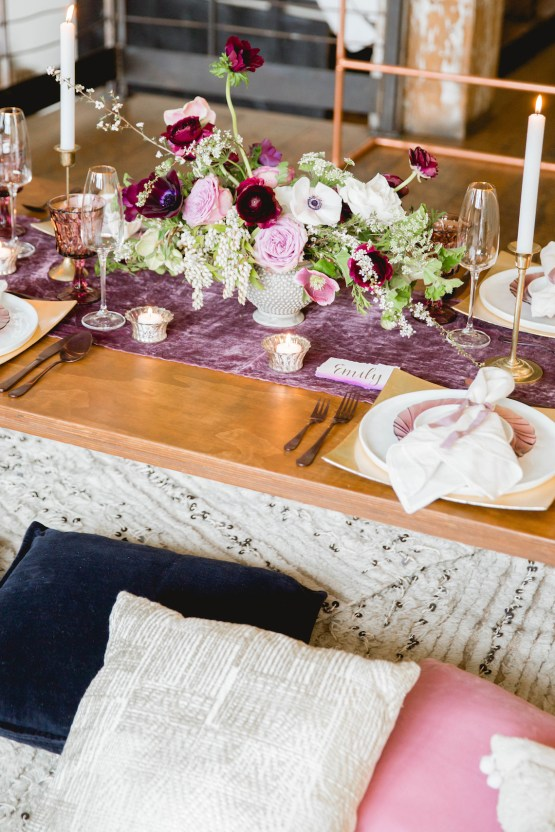 Multicultural Purple and Gold Bollywood Wedding Inspiration – Willow and Ivy Events – Zainab Rikabi 6