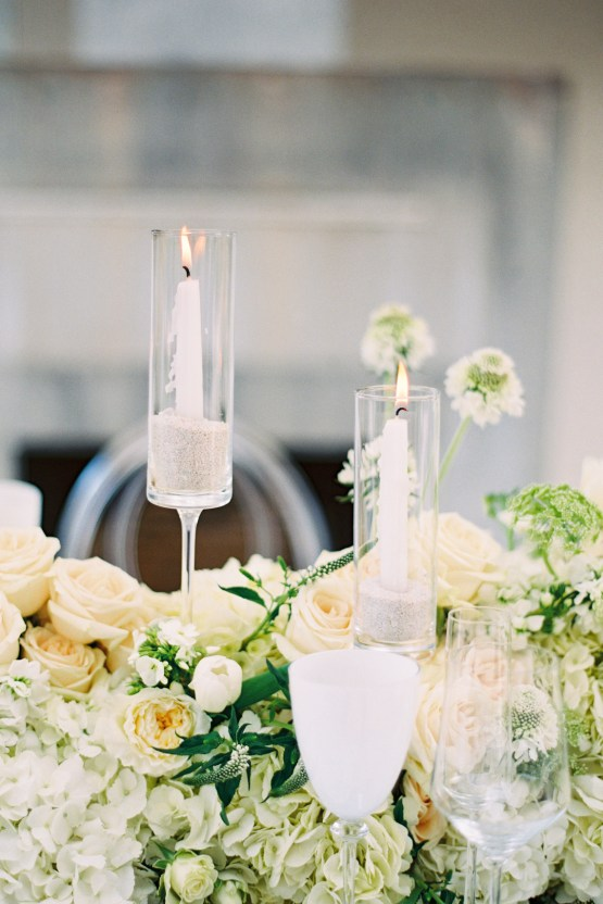 Lucite Love Meets Floral Sculptures; Modern Artistic Wedding Inspiration | Allen Tsai Photography