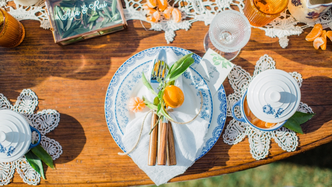 Tangerine and Turquoise Portugal Wedding Inspiration – Edgar Dias Photography 37