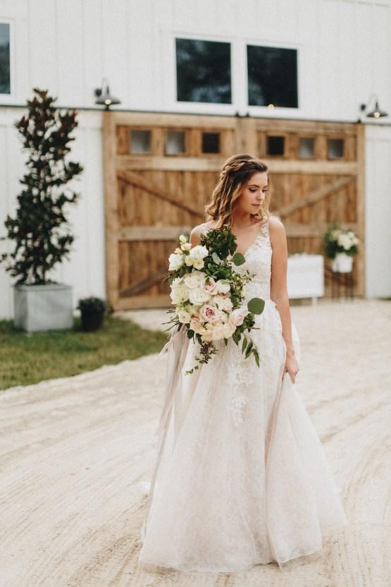 Vintage Fall Farmhouse Wedding Inspiration   Patina & Petals   Sydney Marie Photography 12