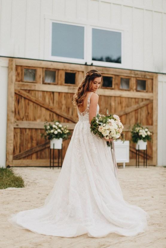 Vintage Fall Farmhouse Wedding Inspiration   Patina & Petals   Sydney Marie Photography 18