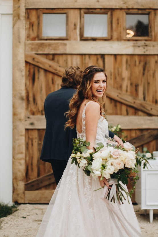 Vintage Fall Farmhouse Wedding Inspiration | Patina & Petals | Sydney Marie Photography 21