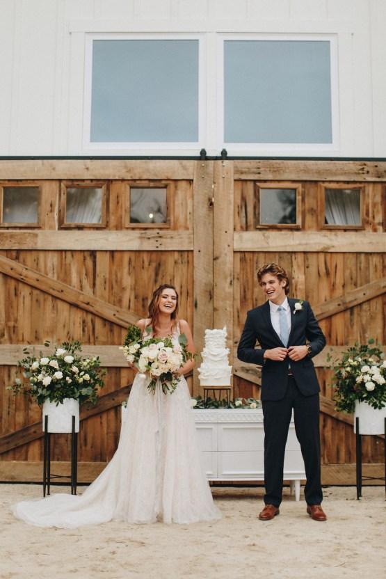 Vintage Fall Farmhouse Wedding Inspiration   Patina & Petals   Sydney Marie Photography 25