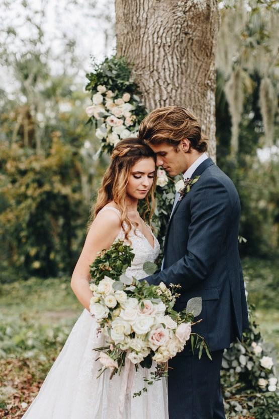 Vintage Fall Farmhouse Wedding Inspiration   Patina & Petals   Sydney Marie Photography 28