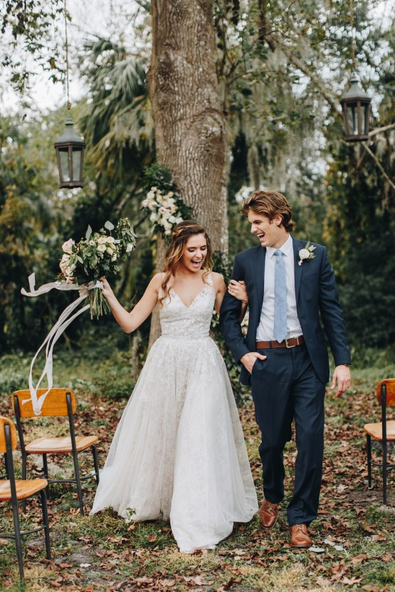 Vintage Fall Farmhouse Wedding Inspiration | Patina & Petals | Sydney Marie Photography 29