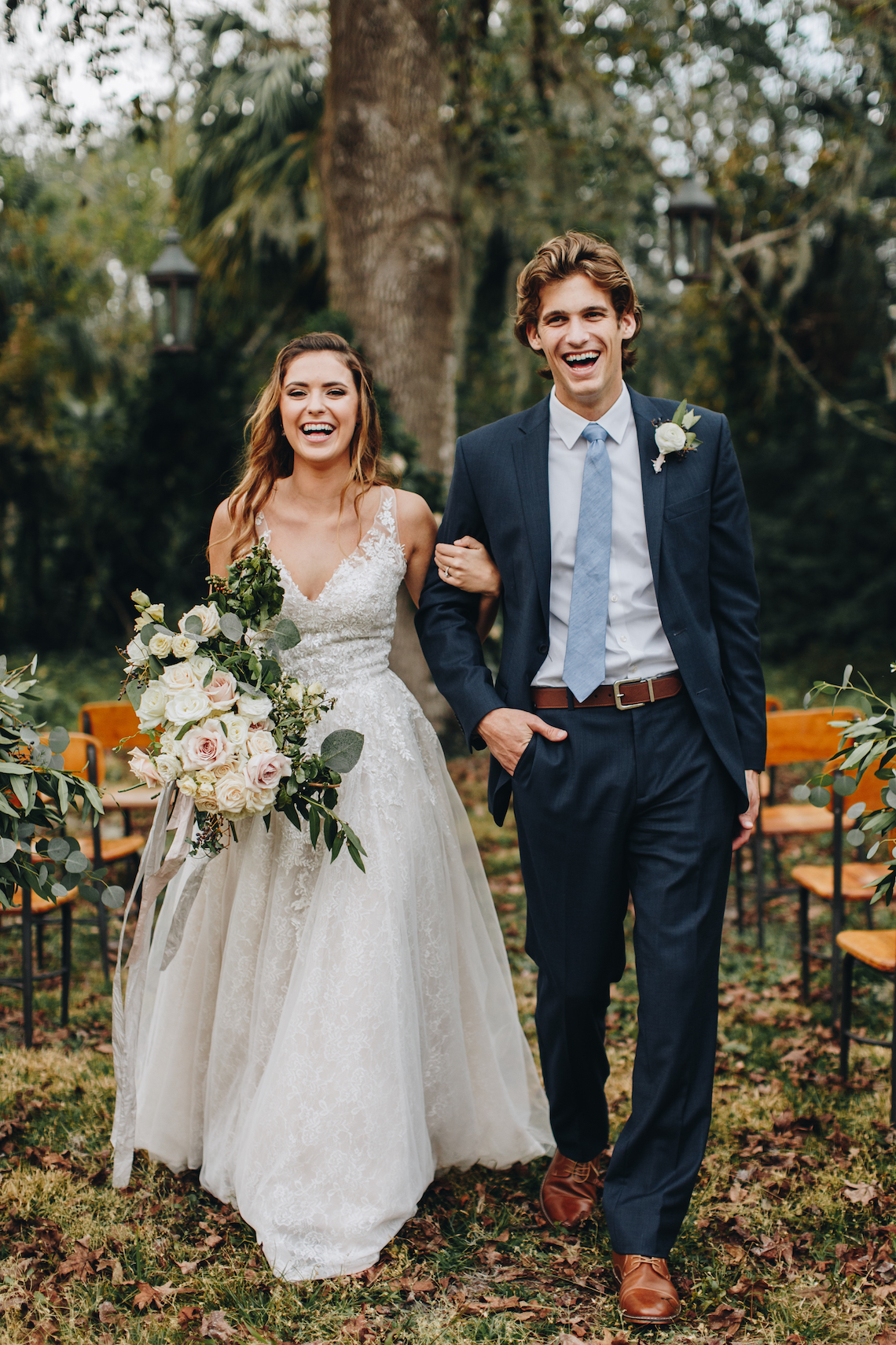 Vintage Fall Farmhouse Wedding Inspiration | Patina & Petals | Sydney Marie Photography 30