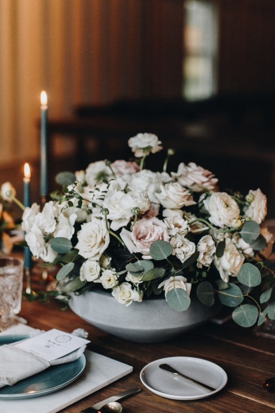 Vintage Fall Farmhouse Wedding Inspiration | Patina & Petals | Sydney Marie Photography 35