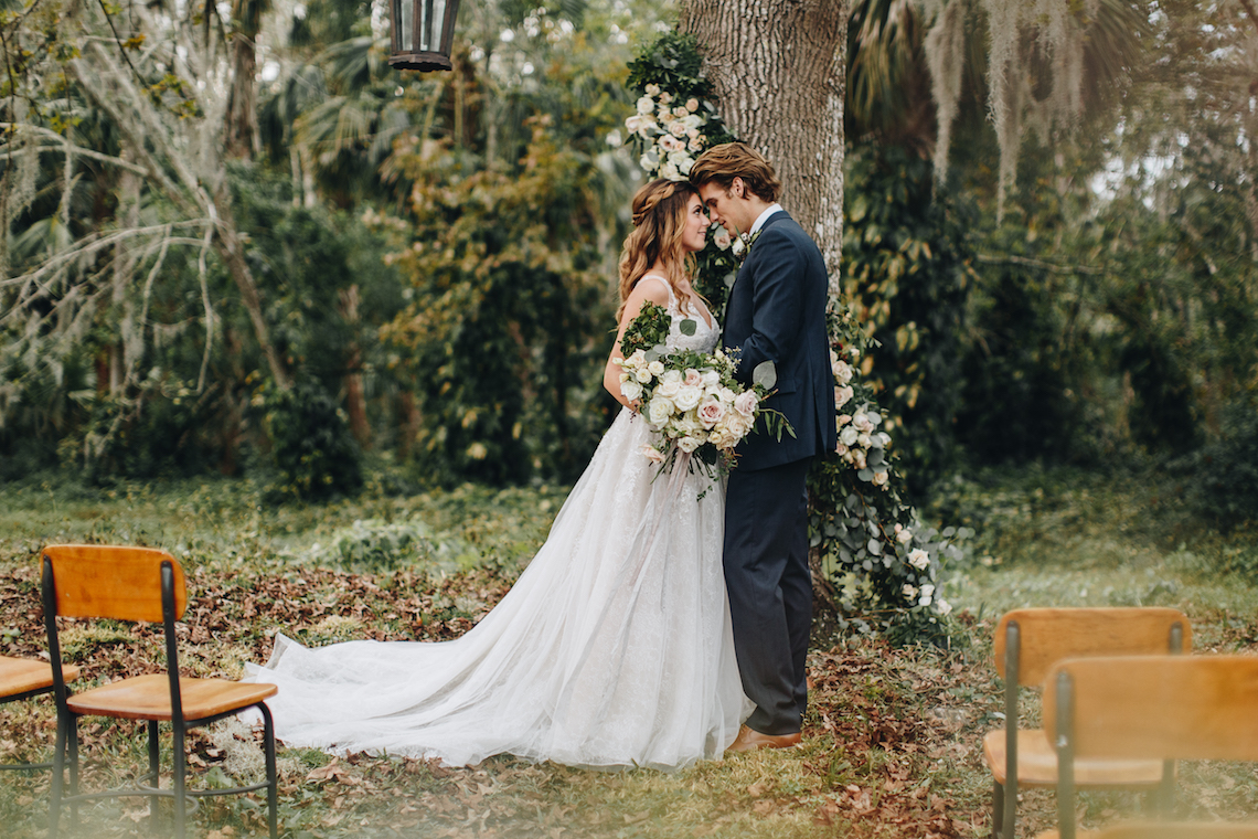 Vintage Fall Farmhouse Wedding Inspiration | Patina & Petals | Sydney Marie Photography 41