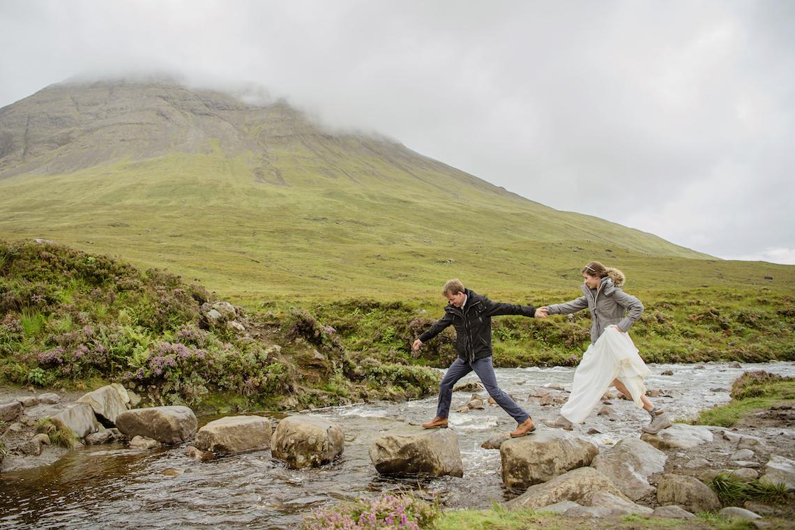 Wild & Adventurous Isle of Skye Elopement | Your Adventure Wedding 12