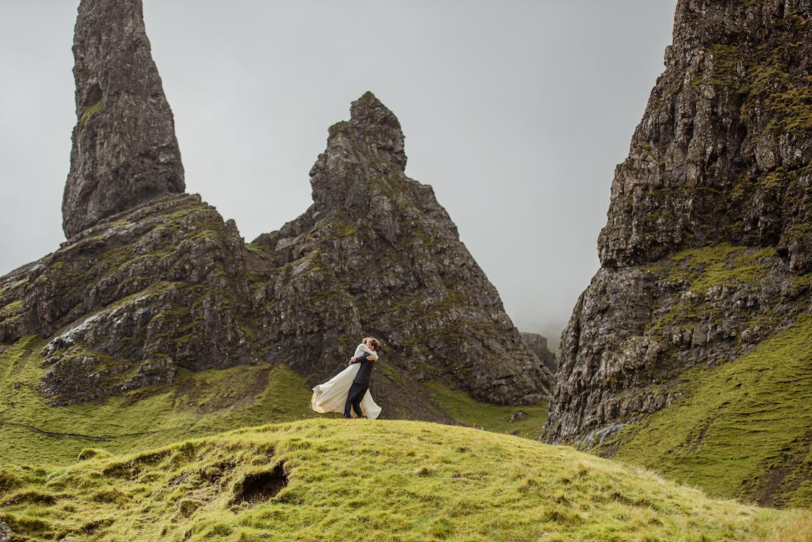 Wild & Adventurous Isle of Skye Elopement | Your Adventure Wedding 16