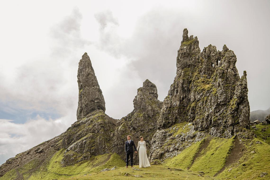 Wild & Adventurous Isle of Skye Elopement | Your Adventure Wedding 17