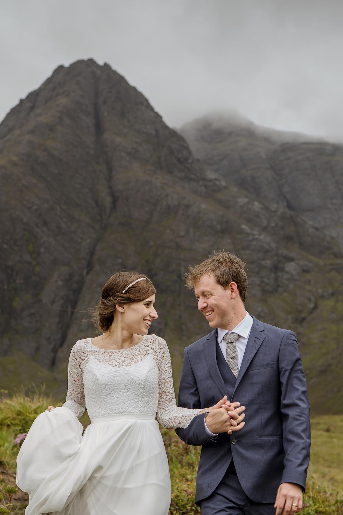 Wild & Adventurous Isle of Skye Elopement | Your Adventure Wedding 26