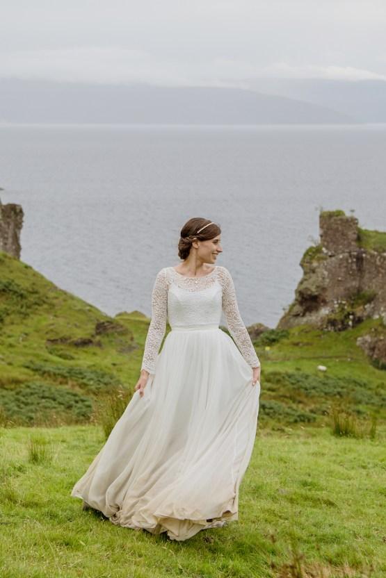 Wild & Adventurous Isle of Skye Elopement | Your Adventure Wedding 30
