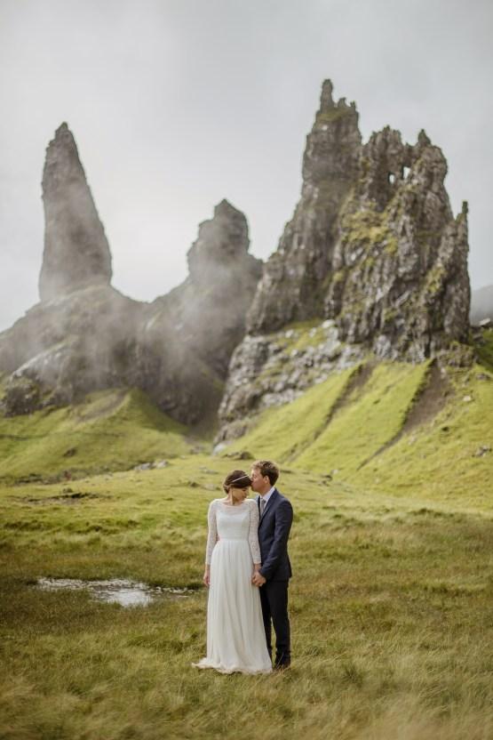 Wild & Adventurous Isle of Skye Elopement | Your Adventure Wedding 35
