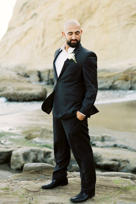 Blackberry and Pear Dreamy Beach Elopement Inspiration – Troy Meikle 24